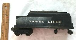 Lionel Lines Coal Tender Car Vintage 6466wx Free Shipping Mt