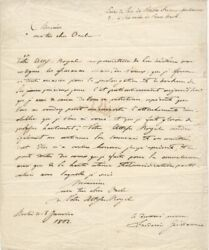 King Frederick William Iii - Autograph Letter Signed 1802