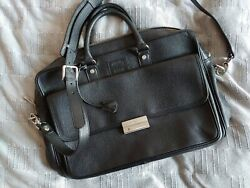 MM Maison Mollerus Exclusive Black Leather Bag Messenger For FIFA $149.00