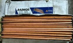 100ct Radnor Rad64002232 3/8x17 Dc Jointed Copperclad Electrodes Gouging New