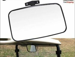 Xl Large 9 Wide View 180 Angle Mirror For Bobcat Skid Steer Tractor Forklift