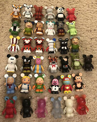 Disney Vinylmation Lot Of 31 Various Characters