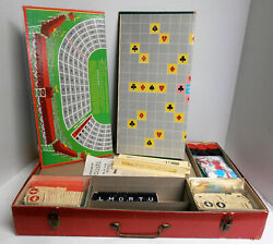 Vintage 1950's 20 Family Fun Games By Transogram Anagrams Rummy Dominoes