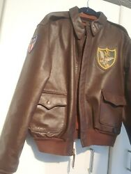 Original Type A Us Army Air Force Horsehide Jacket Size 42