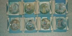 Reco Mcclelland Mother Goose Nursery Rhymes Collector Plates 1979-1986 Set Of 8