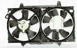 New Dual Radiator And Condenser Fan Fits Nissan Altima 1998-2001 21487-0z000