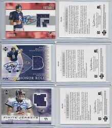 2004 Ultimate Buy Back Buyback Auto Jersey Set Kyle Boller Matching Serial 1