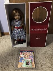 American Girl Emily Doll Retired Nib Nrfb Historical With Accessories Molly