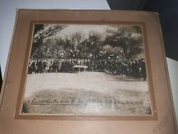 Chine 1929 Photo Officiers And Chinois Chinese Military Dignitaries Colo China