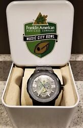 2014 Notre Dame Music City Bowl Fossil Black Watch Team Issued Nib