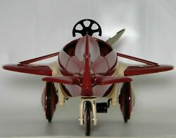 Pedal Car Plane Ww2 Metal Aircraft P51 Mustang Too Small To Ride On