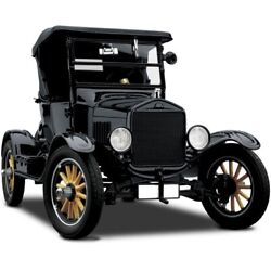 Vehicle Tin Lizzy 1920 Ford 1 Classic Vintage Toy Metal Car Model Truck T24f150a