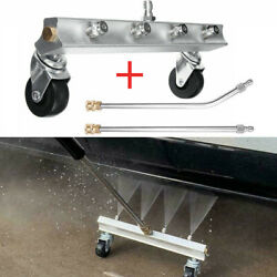 Pressure Power Washer Undercarriage Under Car Cleaner 13 4000 Psi Water Broom