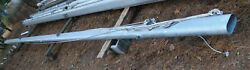 Aluminum Sailboat Mast 40and039 L X 7 1/2x 4 Pre - 1985 Ericson 32-2 Tall Rig