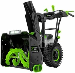 Ego Snt2405 24in 2-stage Snow Blower W/ 2 7.5ah Batteries And Charger
