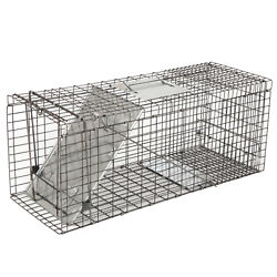 32 Animal Trap Steel Cage Humane For Live Rodent Control Rat Squirrel Raccon