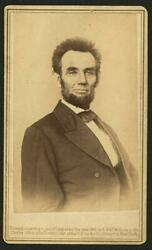 Portrait,president Abraham Lincoln, E And Ht Anthony,cancelled 2 Cent Stamp,c1865