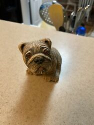 Very Rare English Bulldog Sculpture By Bendenne Sculpures 1984 EXCELLENT