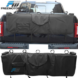 60inches Width V1 Style Pvc Tailgate Pad W/5-bike Racks And 1 Tool Bag