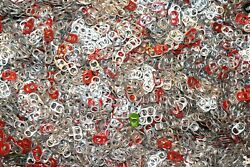 1000 Aluminum Can Tabs Pull Tabs Pop Tops Soda Beer Washed Free Fast Shipping