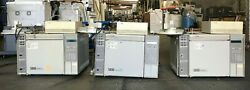 Hp 5890 Series Ii And 5890+ Series Ii Gas Chromatograph Lot Of 3 As-is