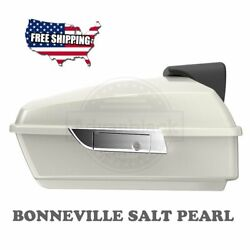 Us Stock Bonneville Salt Pearl Chopped Tour Pack For 97-2020 Harley Touring