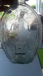 1848-1850 General Zachary Taylor Fells Point Baltimore Historical Flask Bottle