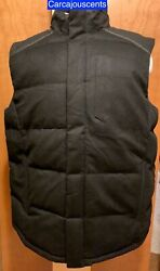 Under Armour Cashmere Infrared Menand039s Black Coldgear Fitted Vest Size Large