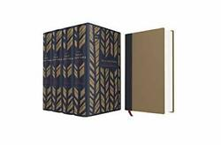 Niv, The Sola Scriptura Bible Project The Complete Collection Navy/caramel Clo
