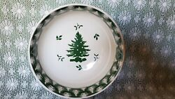 🌲🌲🌲spode Evergreen Large Serving Bowl  S3777-a7 2006 Euc 🌲🌲🌲