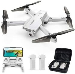 Gps Drone With Camera For Adults 4k Uhd Foldable Fpv Rc Quadcopter Auto Return