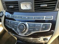 Temperature Control With Forest Air System Fits 11-13 Infiniti M37 344897