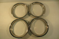 Chevy Gmc Truck 15 X 2 Deep Dish Rally Wheel Rim Trim Beauty Ring 1968-1989