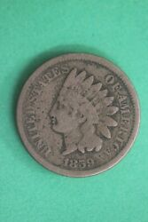 1859 Indian Head Cent Penny Cn Exact Coin Shown Flat Rate Shipping Oce 38