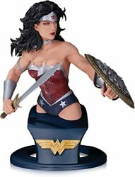 New 52 Wonder Woman Bust Dc Collectibles Porcelain Statue By Alejandro Pereira