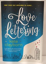 Love Letteringl By Kate Clayborn A Between The Chapters Pick New Soft Copy