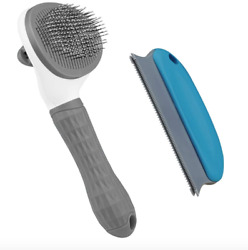 Aumuca Cat Brush and Dog Brush Cat Brush for Shedding and Grooming W