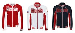 Men's Official Jacket Russian Team Olympic Russia Poccnr Bosco Sport New .