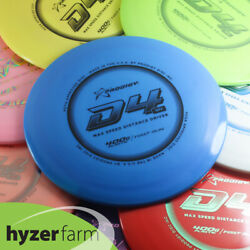 Prodigy First Run D4 Max 400g Pick Weight And Color Hyzer Farm Disc Golf Driver
