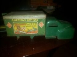 Banner Toys American Express Delivery Truck. Vintage 1950's Toy