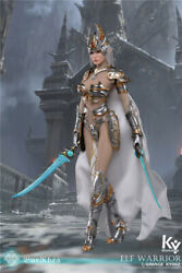 1/6 Silver Elf Female Soldier Burryna Normal Edition Figure By Ky Workshop 002n