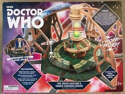 Doctor Who Tenth Dr Tardis Console Room Electronic Playset New For Action Figure