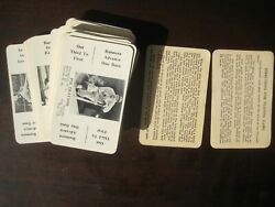 1936 S And S Baseball Card Game Complete Set Of 52 Cards Plus 2 Instruction Cards