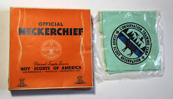 Schiff Scout Reservation Conservation Training Camp Neckerchief, New Origpolybag