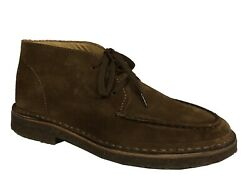 Drake Andrsquos Menand039s Shoe Suede Lace Up Brown Burnt Foo-03sue-18054
