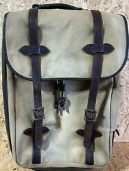 Filson Rollin Carry-on Bag Used From Japan F/s
