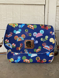 Disney Dooney And Bourke Attractions Earhat Crossbody Hard To Find