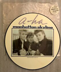 A-ha Manhattan Skyline Limited Ed. 12 Picture Disc 1986 Uk Import W 8405 Tp