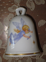 Antique Meissen Christmas Angel Porcelain Bell 1982 Limited Edition