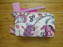 VERA BRADLEY All in One Crossbody for iPhone 6 Felicity Paisley Pink $48.00